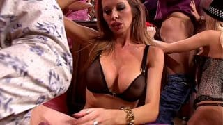 Swinging Neighbourhood MILFs Take Over Local Pub for a Big Tits & Lingerie Sex Party. All-you-can-eat Pussy Buffet!